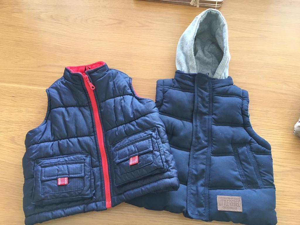 Boys jackets 12-18 months