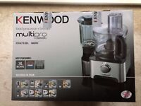 BRAND NEW, STILL SEALED - Kenwood FDM781BA Multipro Classic Food Processor - Only £75