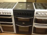 50cm Black gas cooker