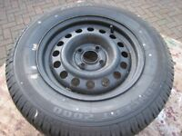 New Concept 195/70R14 91H caravan/trailer wheel.