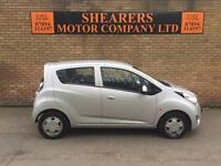 + 10 PLATE CHEVROLET SPARK ONLY 44 K AND FSH £2190 + 1 YEAR MOT +