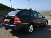 MERCEDES C220 CDI ELEGANCE SE ESTATE AUTO - LEATHER, SAT NAV, ALLOYS, NICE CAR DRIVES VERY WELL