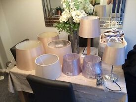 Lampshades ( job lot)
