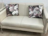 Cream little sofa