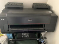 Canon Pro 2000 Printer and additional 16 full ink cartridges unopened