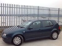 VOLKSWAGEN GOLF 1.9 SE TDI MANUAL DIESEL GREEN