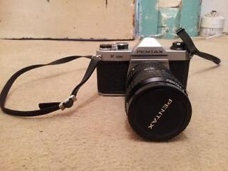 Pentax k1000 camera with 80mm lense in vgc condition
