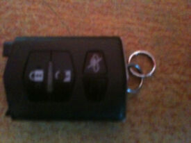 Mazda - genuine 4 button remote - retractable type - visteon 41787 - also fits RX8/RX-8