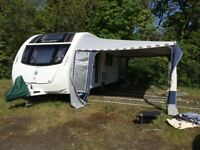 Isabella Commodore Awning Blue, for caravan size 995 to 1025