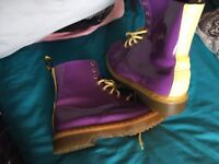 Limited Addition Dr Marten Boots size 6