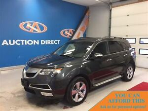 2013 Acura MDX AWD! LEATHER, SUNROOF! 3 ROWS! FINANCE NOW!
