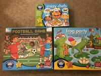 Orchard Toys learning games/ board games