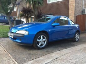 Arden Blue Vauxhall Tigra 1.4 Chequers Edition