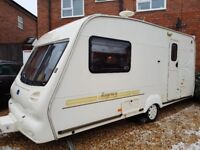 Bailey regency 2berth with motor mover and full awning