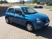 Renault Clio 1.2 Authentique 5 Dr One Owner From New Only 61000 Mls FSH New MOT Clutch Timing Belt