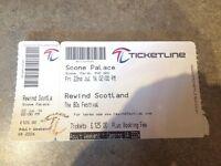 Rewind Festival Ticket - Scone Palace