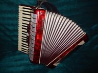 Parrot piano accordion 120bass