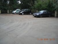 Parking bays for rent ideally located in the Teddington area,