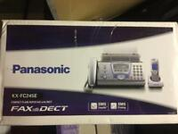Boxed, new Panasonic Fax Machine and Cordless Phone