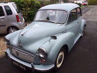 Morris Minor 1000 1959 2dr saloon