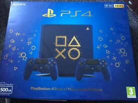 Ps4 slim days of play limited edition (receipt included)
