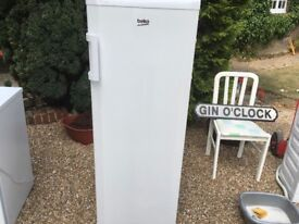 Large BEKO Freezer APlus TCL5249W - Larder Freezer 5 Shelves