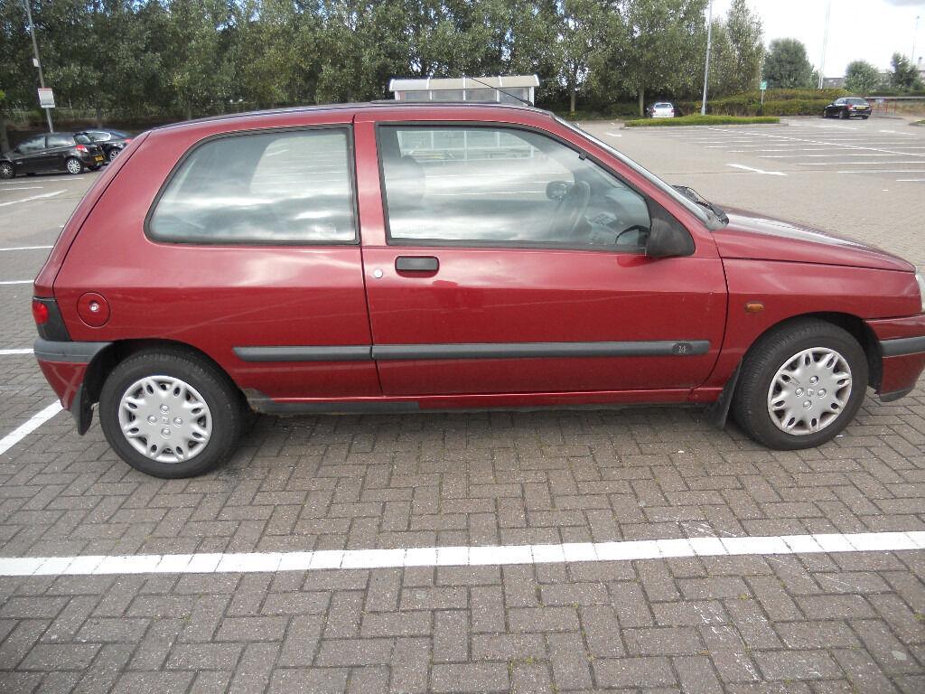 Renault Clio RN 1.4 3dr hatchback, 1997, Manual