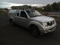 Nissan navara 2007 2.5 dci pick up mot till may 2017 CD player