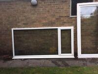PVC large window
