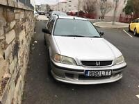1998 Honda Civic Aerodeck 1.5 Mot Until May