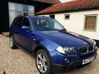 2008 Montego Blue BMW X3 2.0D SE Automatic