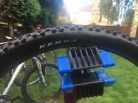 650b Kenda mountain bike tyre almost new