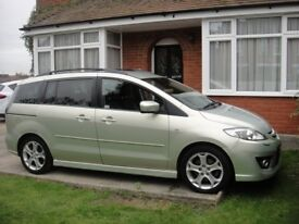 Mazda 5 - 7 seater estate - leather uphostery