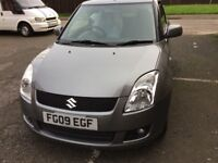 SUZUKI SWIFT GLX -2009 - 54000; WITH FULL HISTORY & FACTORY SAT-NAV