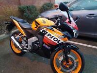 Honda cbr repsol 125cc moped scooter Vespa gilera