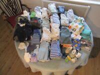 Clothes. Baby boy. Bundle Birth - 3 months