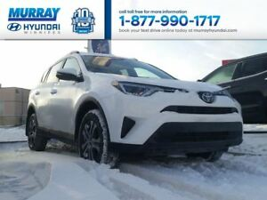 2017 Toyota RAV4 LE with Bluetooth and Remaining Warranty
