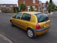 Renault Clio, LOW MILEAGE 47000 KM. LONG MOT 14 January 2018, LOVELY DRIVING, VERY ECONOMICAL,