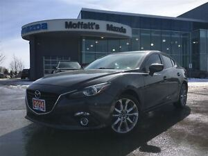 2014 Mazda MAZDA3 GT-SKY BOSE, SUNROOF, HEATED SEATS, BACK UP CA