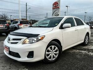 2013 Toyota Corolla ONE OWNER+SERVICED HERE+XTRA WARRANTY!