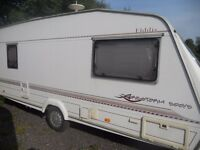 4/5 berth Elddis with Awning & extras