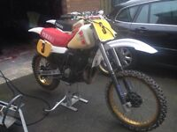 YAMAHA YZ490 CLASSIC MOTOCRSS BIKE. £1550