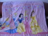 BEAUTIFUL PRINCESS DUVET COVER & PILLOW CASE - for single bed - REDUCED!