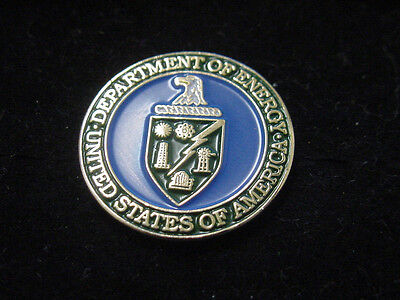 new department of energy DOE lapel pin