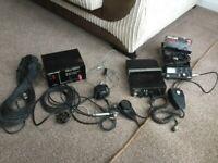 CB radio and accessories
