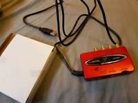 Behringer UCA222 usb soundcard
