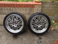 Axe Design 18 inch Deepdish alloys x4 with tyres