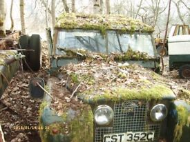 Land Rover log book for 1963 series 2 lwb Diesel