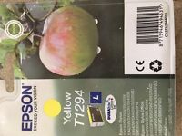 Brand new Genuine Epson Apple T1294 yellow