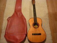 Midsize classical Vittoro, Czechoslovakia guitar